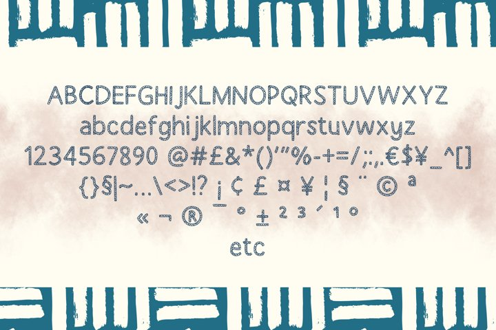 Stanlist Font example 1