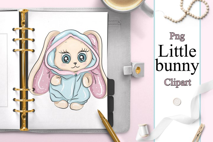 Bunny easter cute baby clipart