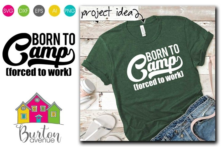 Born to Camp SVG | Camping SVG Files