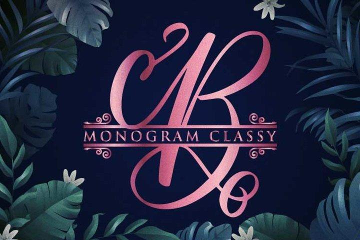 Monogram Classy