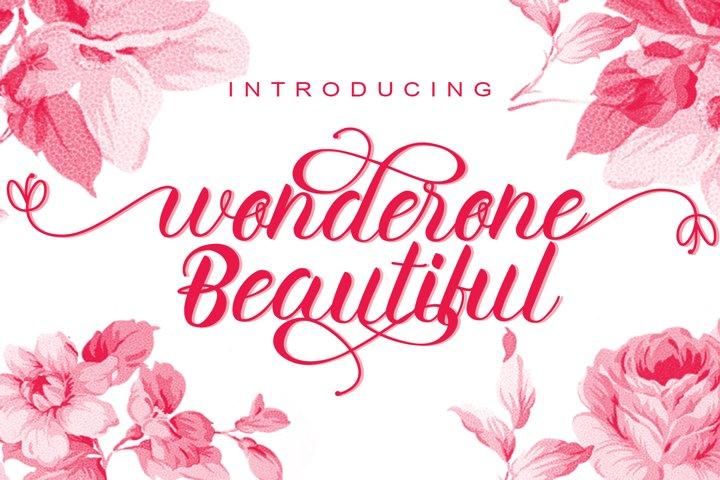 wonderone beautiful