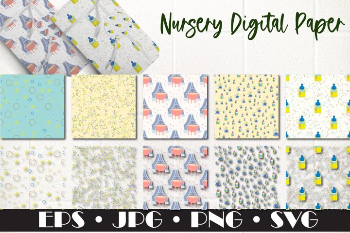 Nursery Pattern, Seamless Patterns