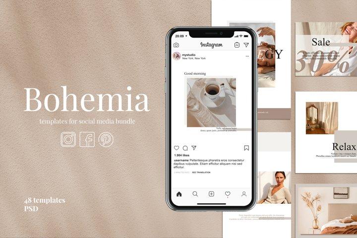 Templates for social media | BOHEMIA