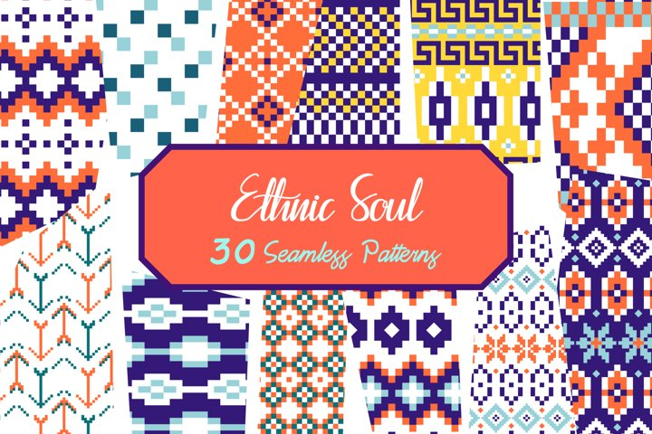 Ethnic Soul - 30 Seamless Patterns