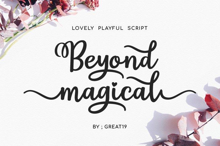 Beyond Magical Script