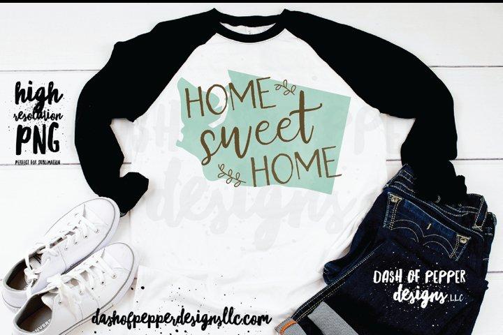 Washington - A Home Sweet Home PNG