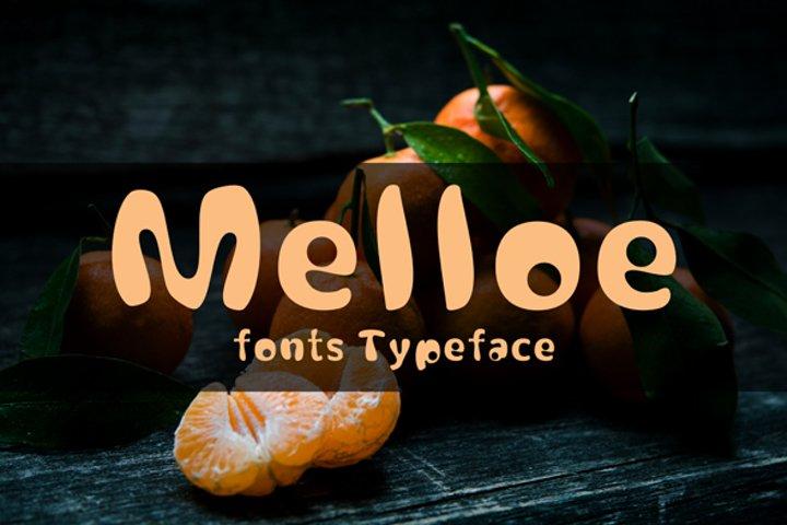 melloe fonts