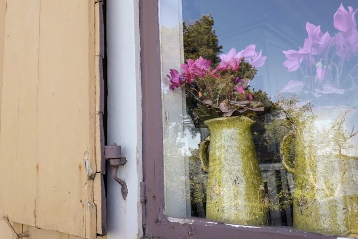 Architecture photography Window Old wooden house 2