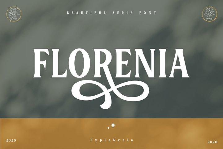 Florenia Display Serif