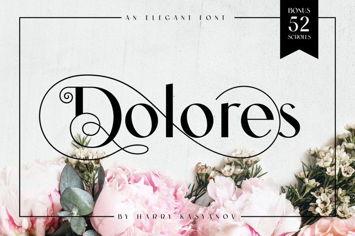 Dolores Elegant Font