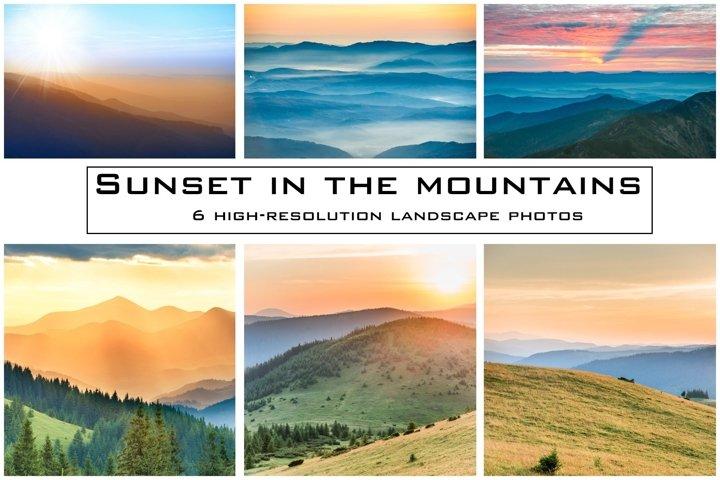 LANDSCAPE MOUNTAIN PHOTO BUNDLE #1