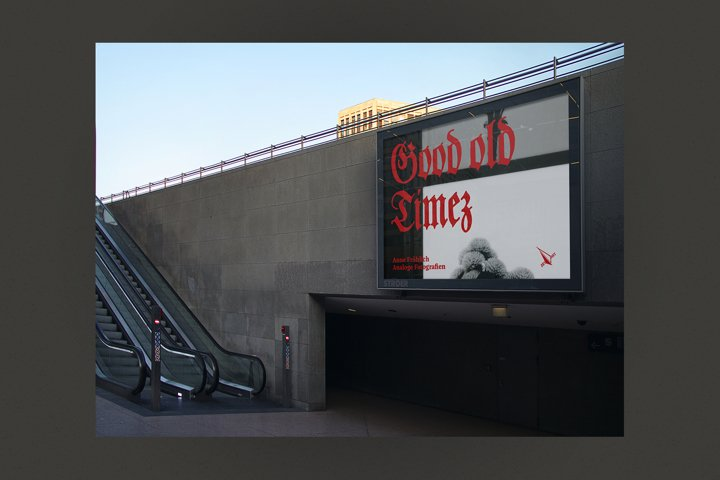 Mockup - Billboard - Tunnel