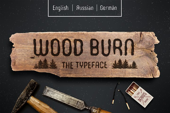 WOODBURN FONT - Free Font of The Week Font