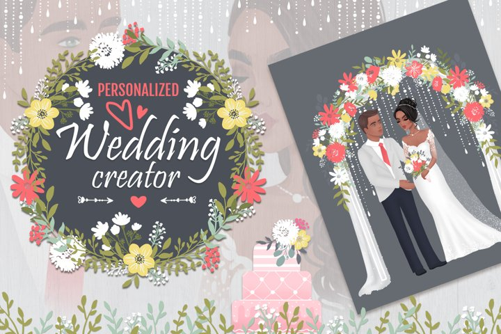 Wedding personalized creator