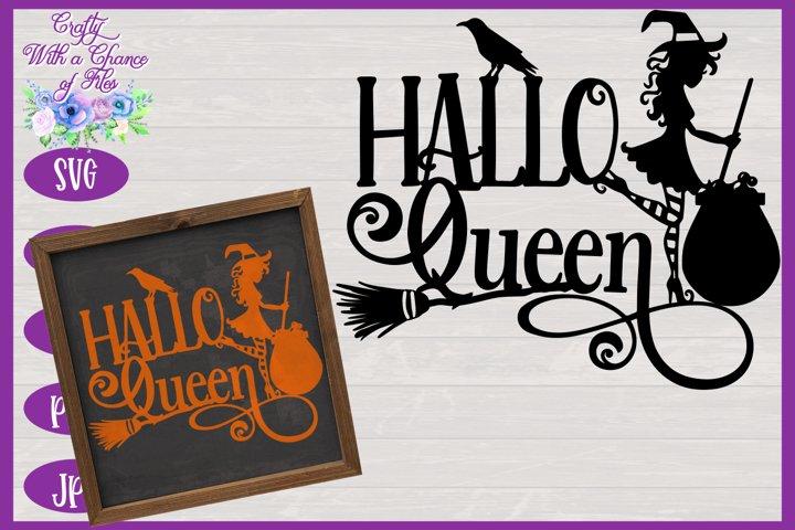 Halloween SVG | Witch SVG | HalloQueen SVG | Witch Laser Cut