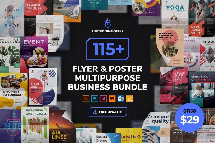 Flyer & Poster Templates Bundle SALE