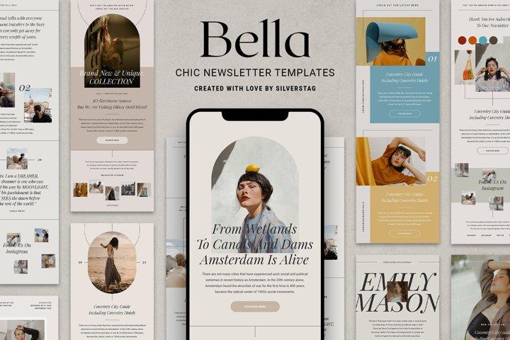 Bella - Chic & Modern Newsletter Templates