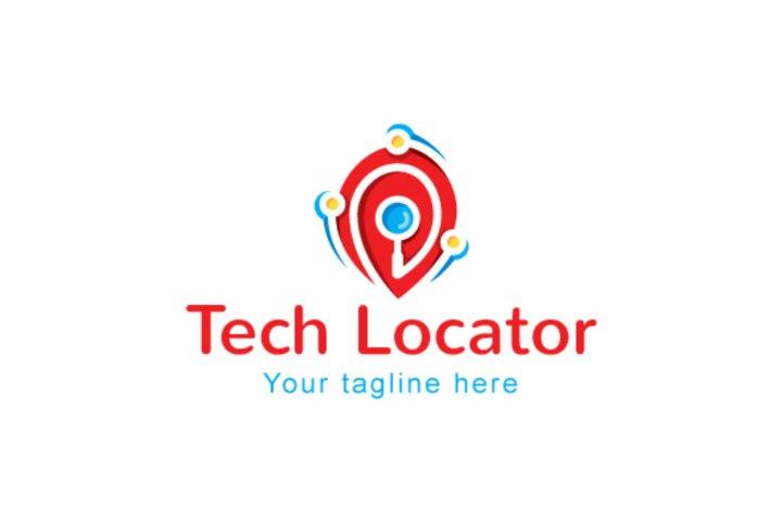 Tech Locator - Iconic Stock Logo Design Template