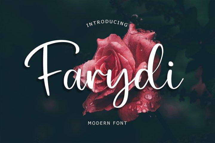 Farydi Modern Font