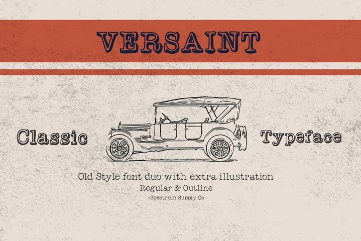 Versaint Font Duo With Extras
