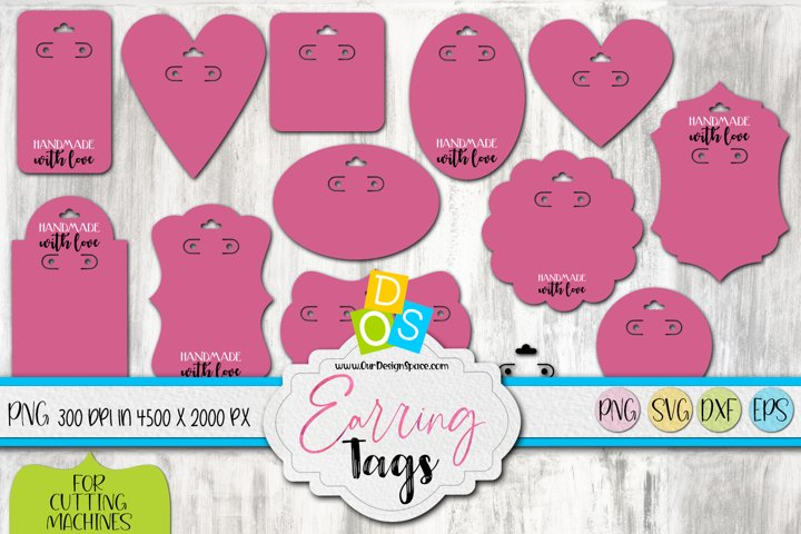 Earring Tags Bundle - Product Packaging For Crafters