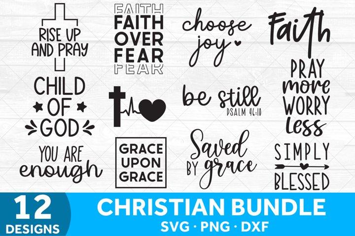 Christian SVG Bundle, Religious Bundle Jesus Bible SVG