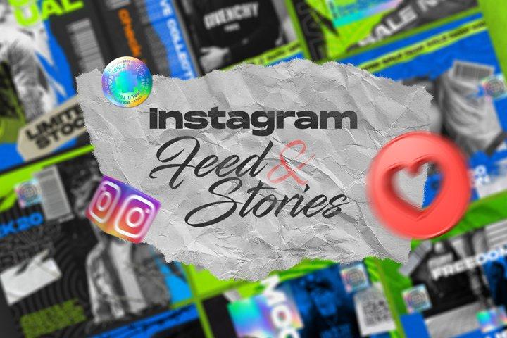 Instagram Hype Feed & Stories