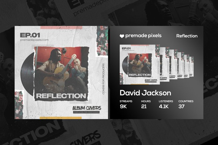 Reflection Album Cover Template