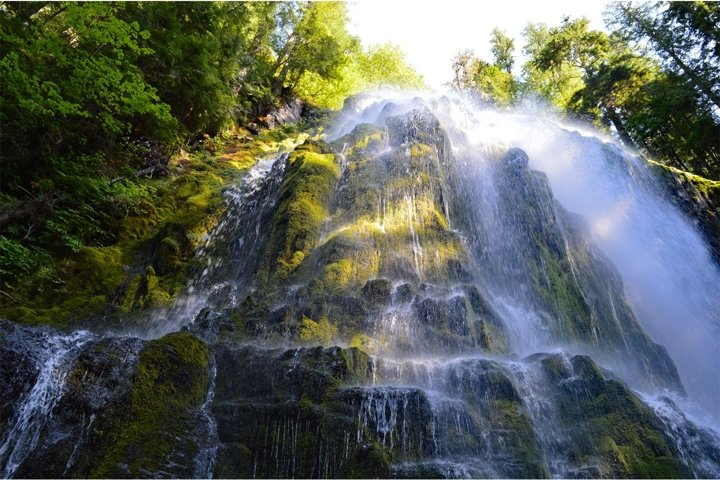 Stock Photo, Waterfall, Forest, River