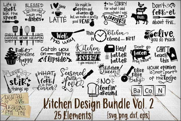 Kitchen Design Bundle Vol 2