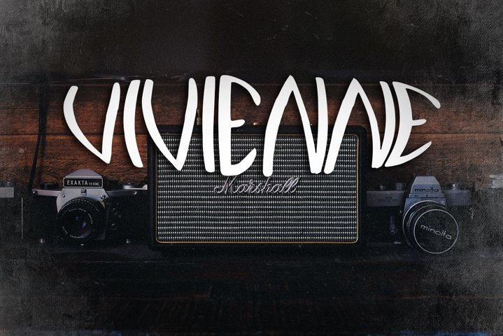 Vivienne Vintage Font