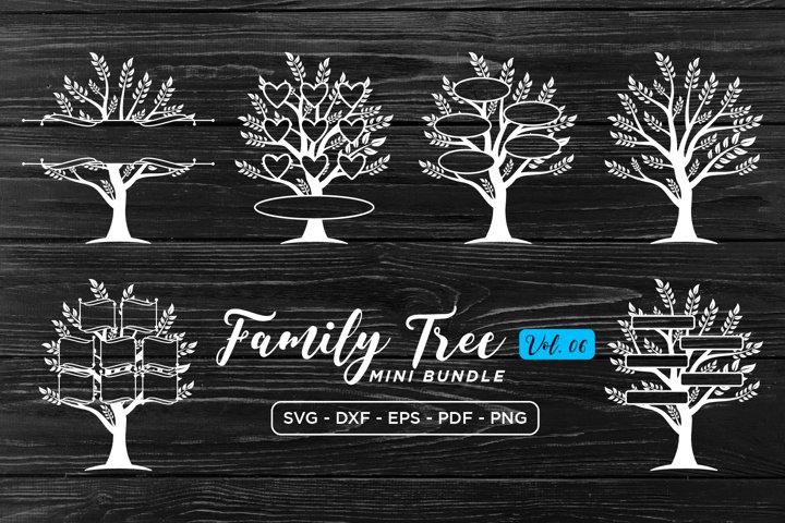 Family Tree SVG Bundle Vol.6, Family SVG, Tree SVG Cut Files