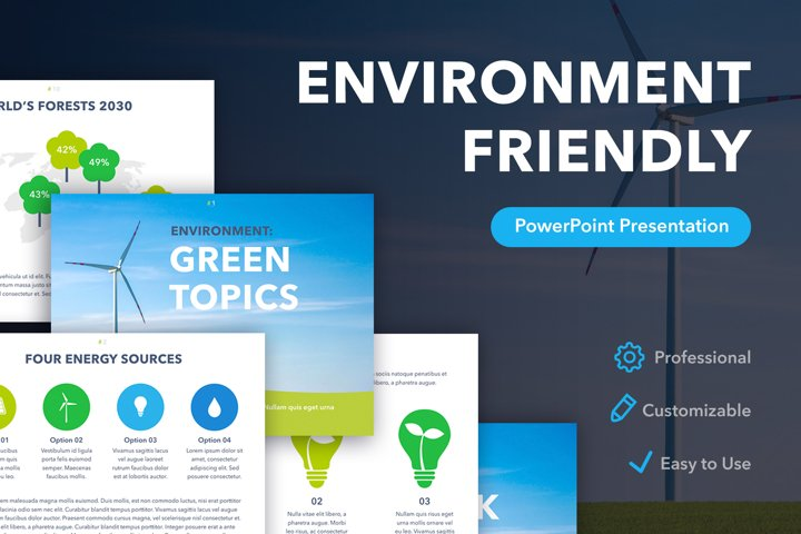 Environment Friendly PowerPoint Template