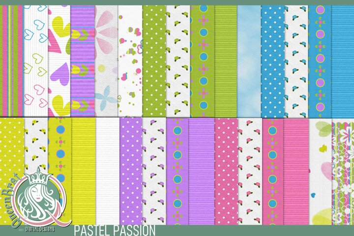 Pastel Passion Backgrounds | Papers