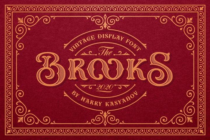 Brooks Vintage Font