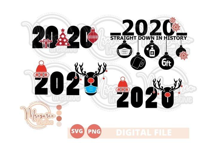 Chirstmas Bundle SVG, Christmas 2020, Merry Xmas