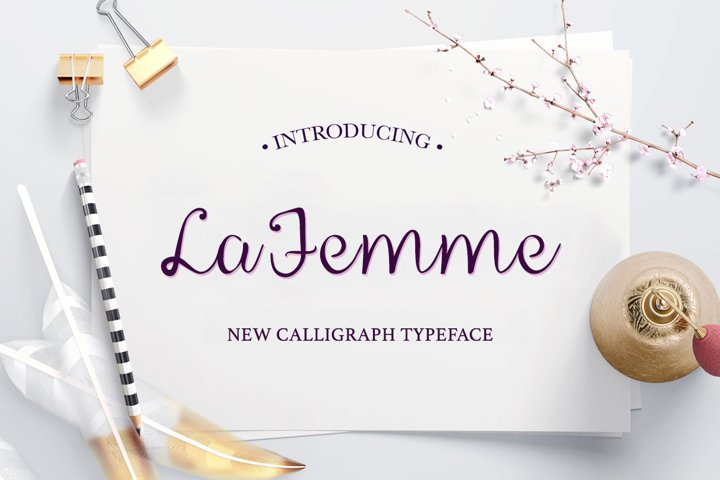 La Femme Script