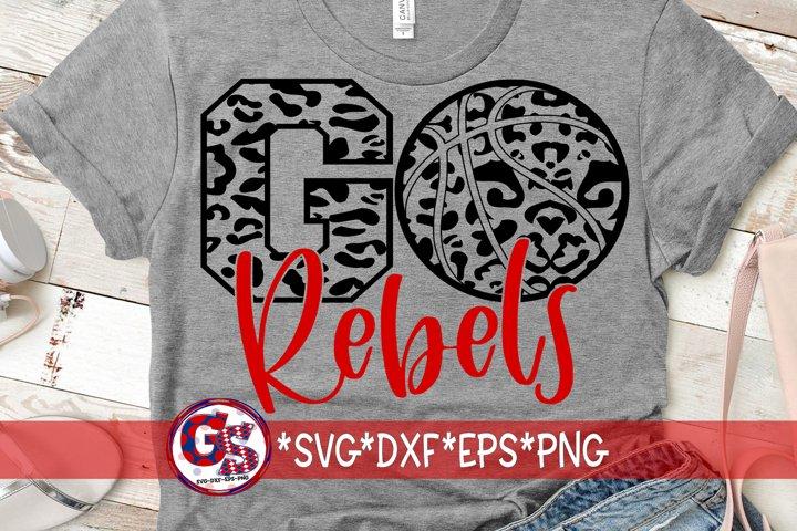 Go Rebels Basketball SVG DXF EPS PNG