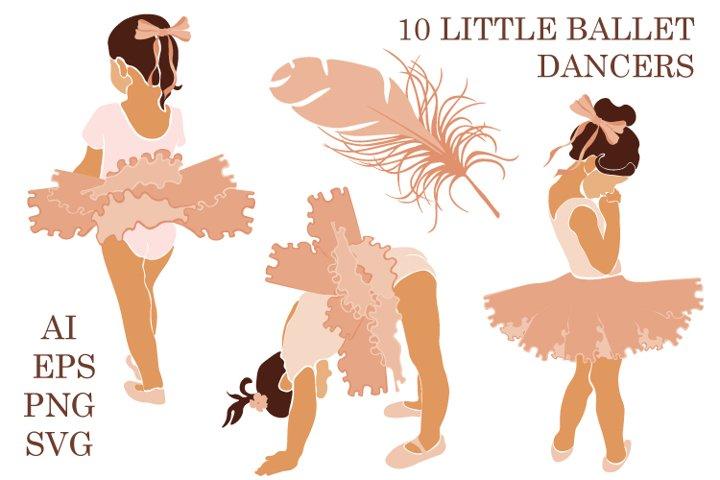 Little Ballerina Clipart