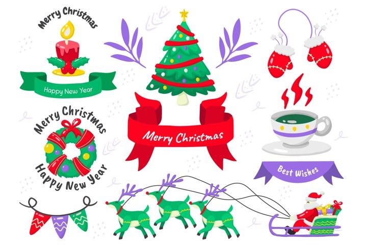 Christmas Elements Vol.12