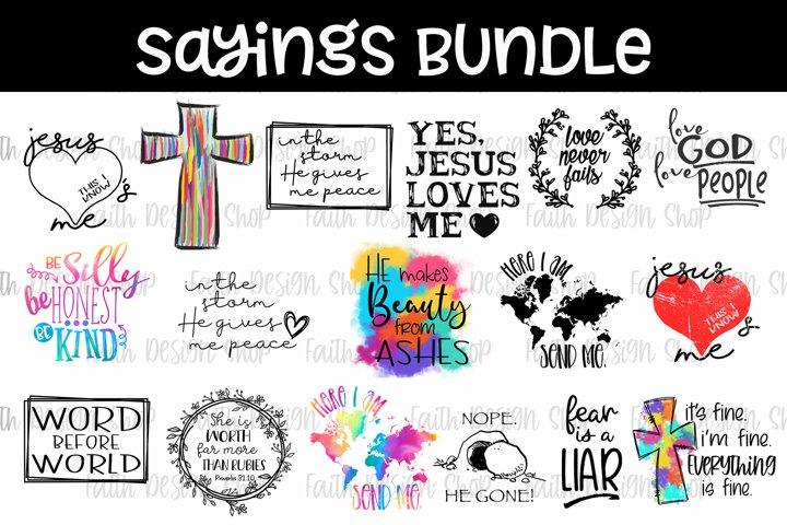 Sayings Bundle