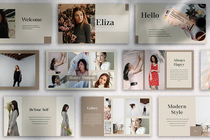 ELIZA - Google Slide Template