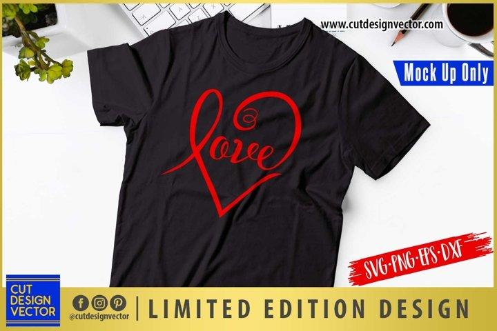 Love Type SVG, Valentines SVG, Valentines