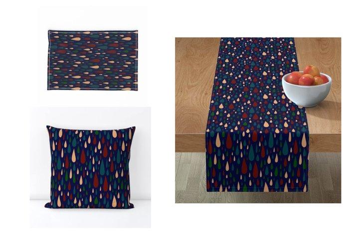 Modern Bohemian patterns. Boho pattern collection example 7
