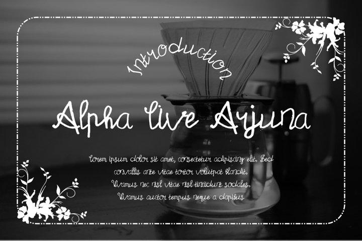 Alpha Live Arjuna