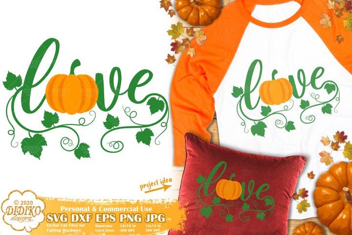 Fall SVG | Pumpkin SVG | Thanksgiving SVG | Thankful SVG