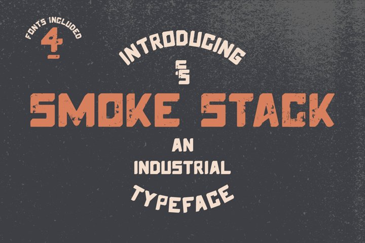 Smoke Stack - Industrial San-Serif