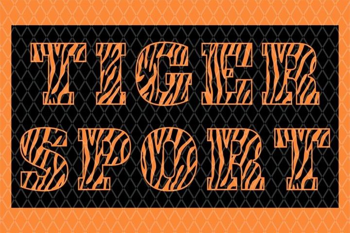 Tiger Sport Font