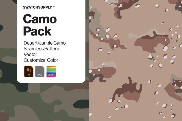 Camo Pack Desert/Jungle