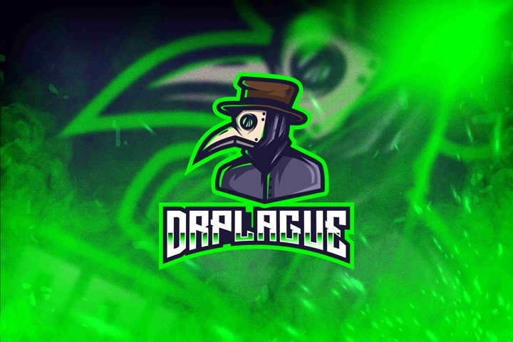 Dr.Plague Esport Logo Template